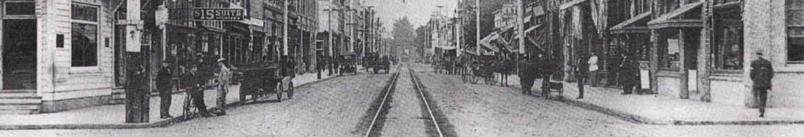 Historic Photo of Albany, Oregon