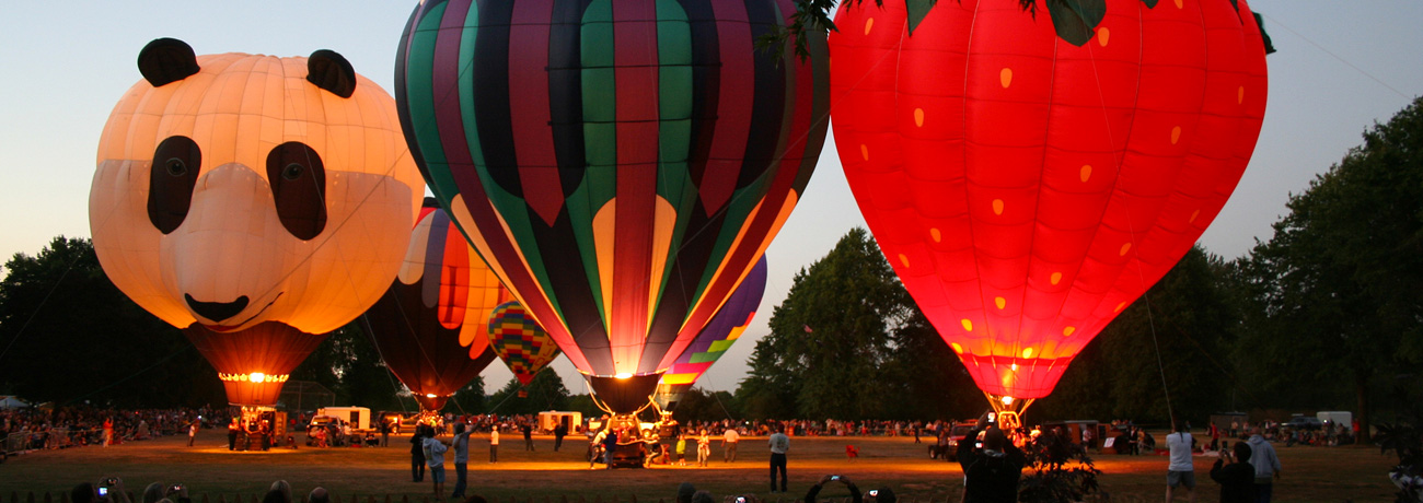 ATI Northwest Art & Air Festival balloons