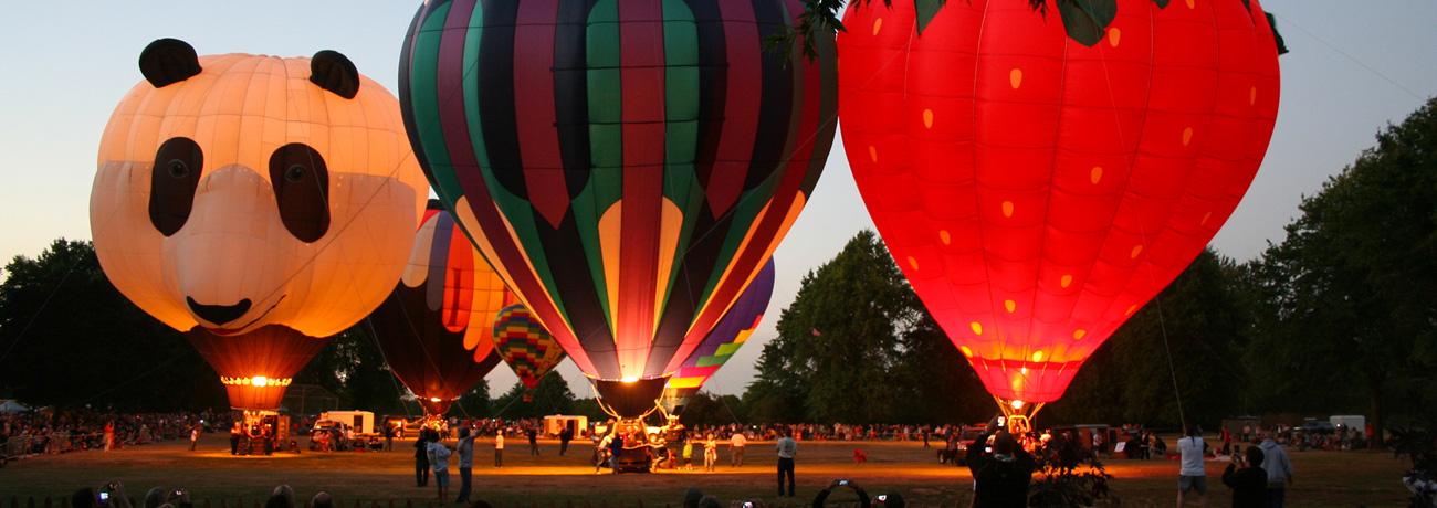ATI Northwest Art & Air Festival balloons