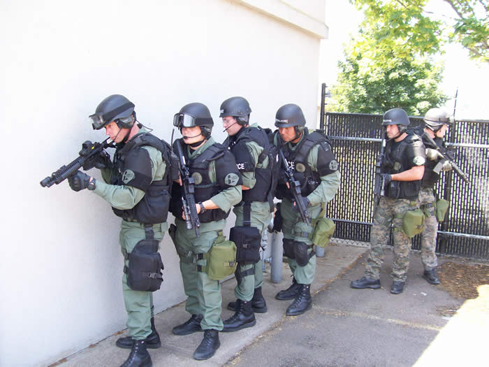 APD SWAT Team training
